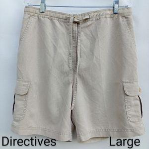 Other - Men's Quick-dry Cargo Short Khaki Lyocell Large